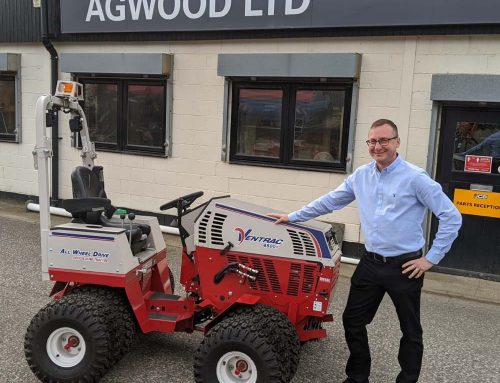 Agwood welcome a new salesman for professional groundcare