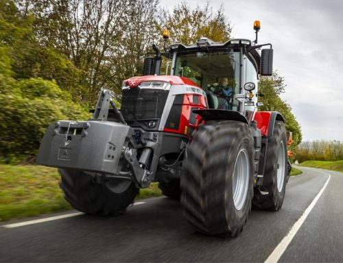 Massey Ferguson MF 8S.265 Dyna E-Power Exclusive wins Tractor of the Year 2021